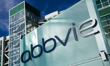 AbbVie logo on side of office building