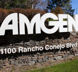 Amgen, 1100 Rancho Conejo Blvd - On wall