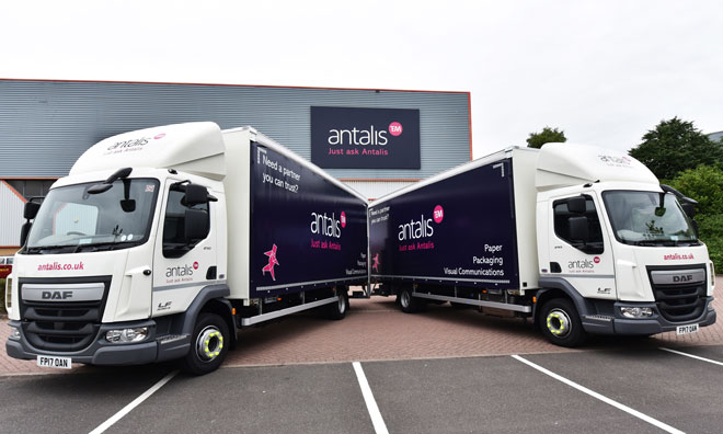 Antalis drives forward with new vehicle fleet