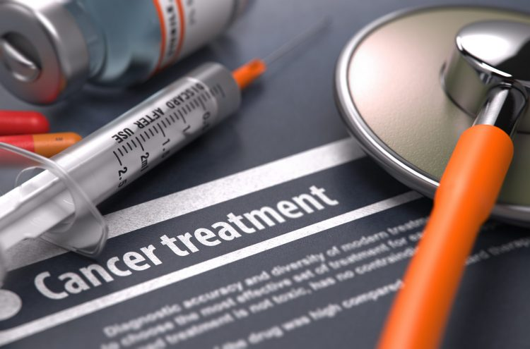 paper titled cancer treatment surrounded by medication