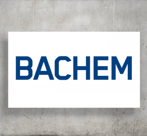 Bachem logo with background