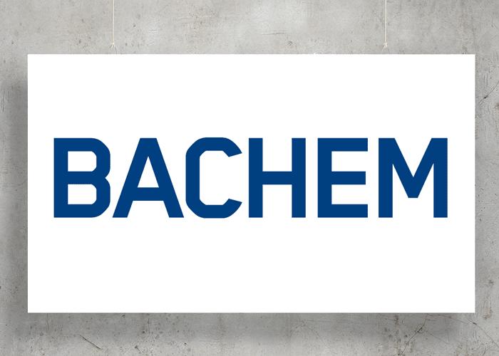 Bachem logo with background
