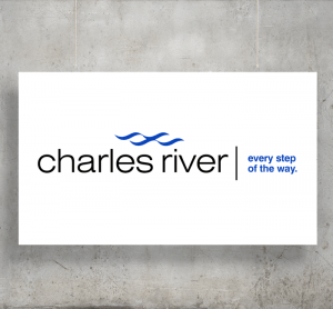 Charles River logo with background