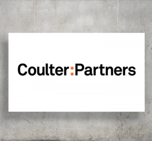 Coulter Partners logo with background