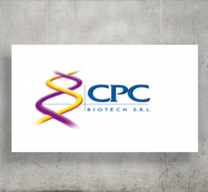 CPC Biotech logo with background