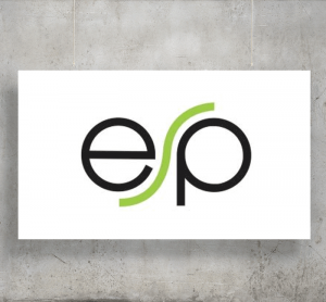 ESP logo with background