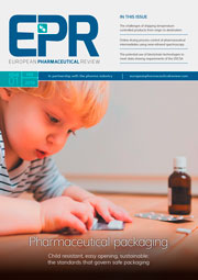European Pharmaceutical Review issue 1 2019 cover