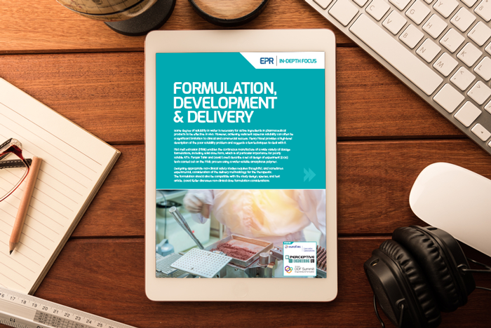 Formulation, Development & Delivery In-Depth Focus 2017
