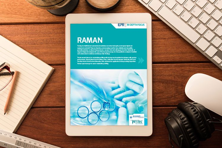 Raman issue 6 2018 In-Depth Focus cover