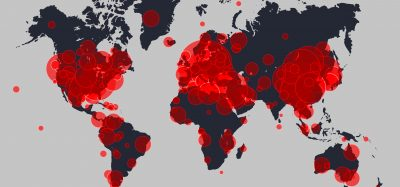 map of coronavirus infection outbreaks