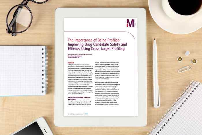 Whitepaper: The importance of being profiled: Improving drug candidate safety and efficacy using cross-target profiling