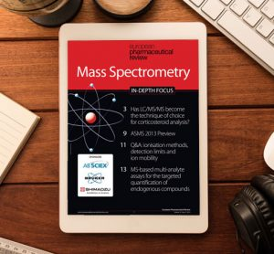 Mass Spectrometry In-Depth Focus 2013