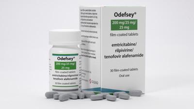 EC grants marketing authorisation to Odefsey in HIV