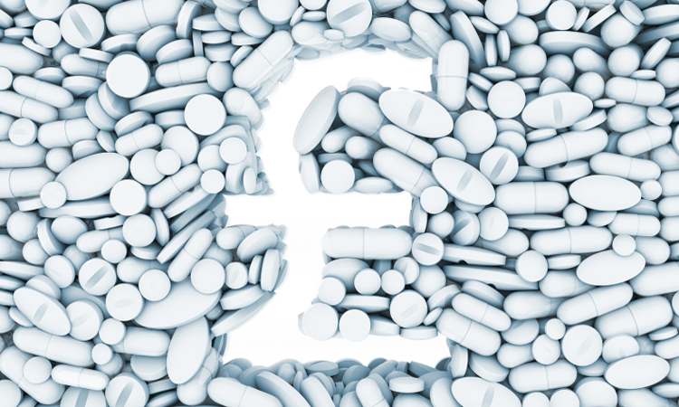 Pound sign gap in white tablets