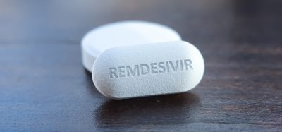 White remdesivir tablet