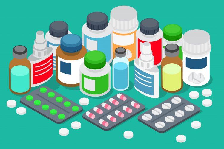 Plastic drug packaging