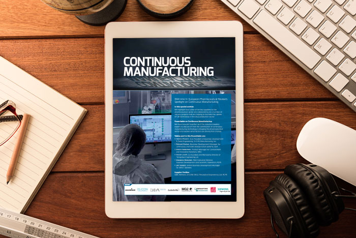 Continuous Manufacturing cover 2018