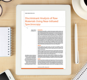 Discriminant analysis of raw materials whitepaper